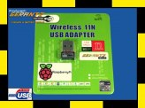 Dedykowana karta WiFi USB do Raspberry Pi/Pi2 (150Mb/s B/G/N)